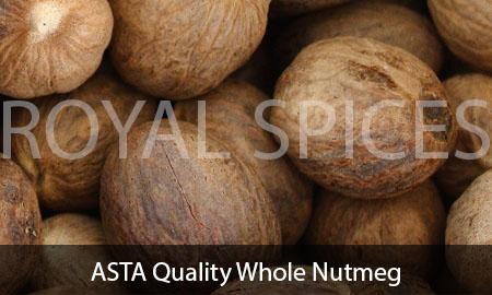 ASTA Quality Whole Nutmeg